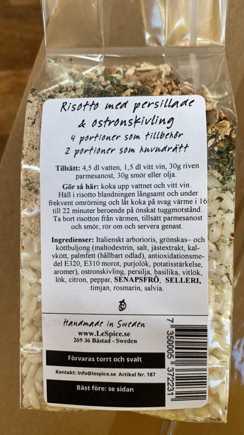 Persillade Ostronkivling 2 | Ost